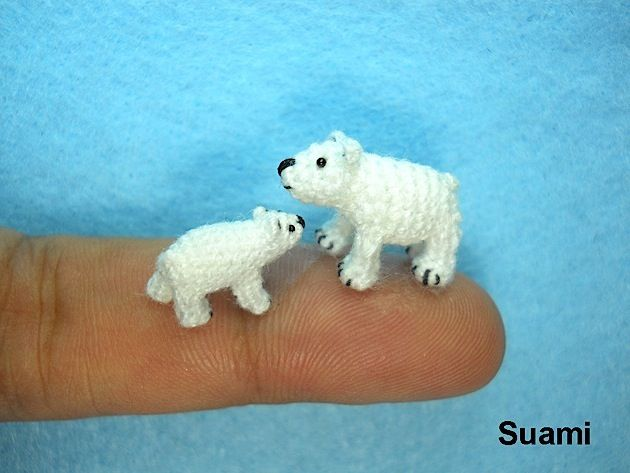 Ganz winzig kleine Häkeltiere von Su Ami | KlonBlog | Animales de ...