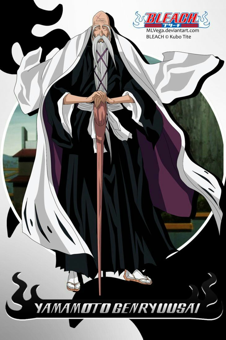 Genryuusai Yamamoto Head Captain Of The Soul Society Bleach