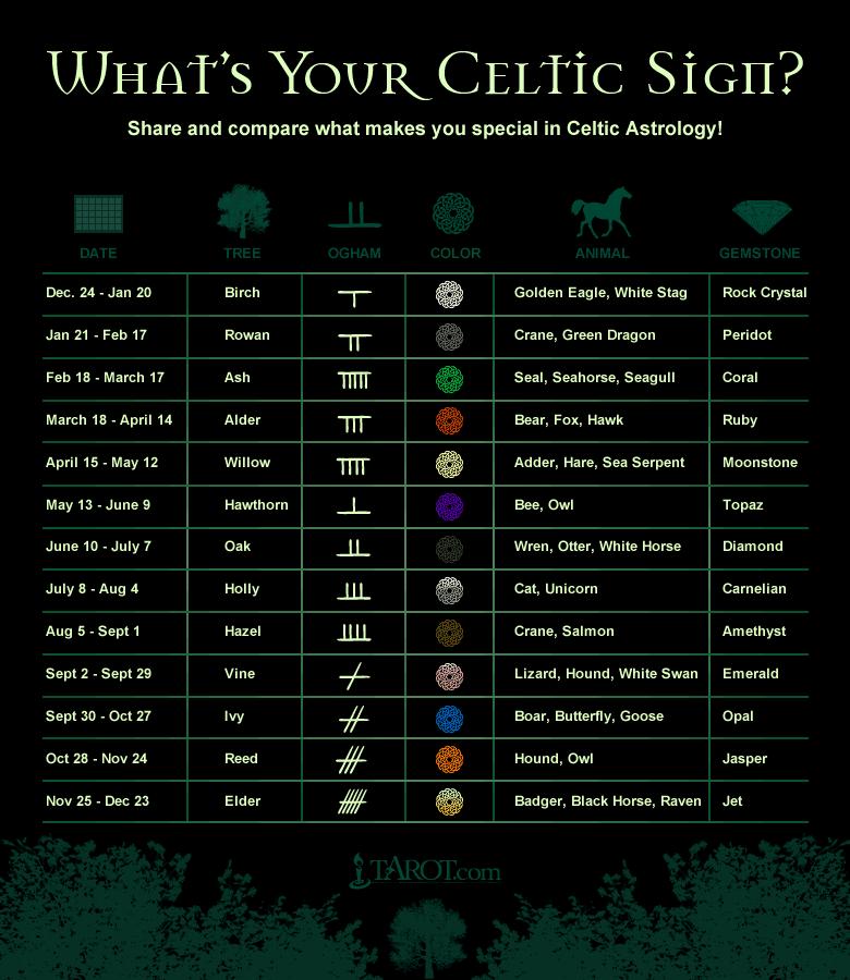 Astrology Celtic Symbols And Irish Astrology Tattoo Ideas