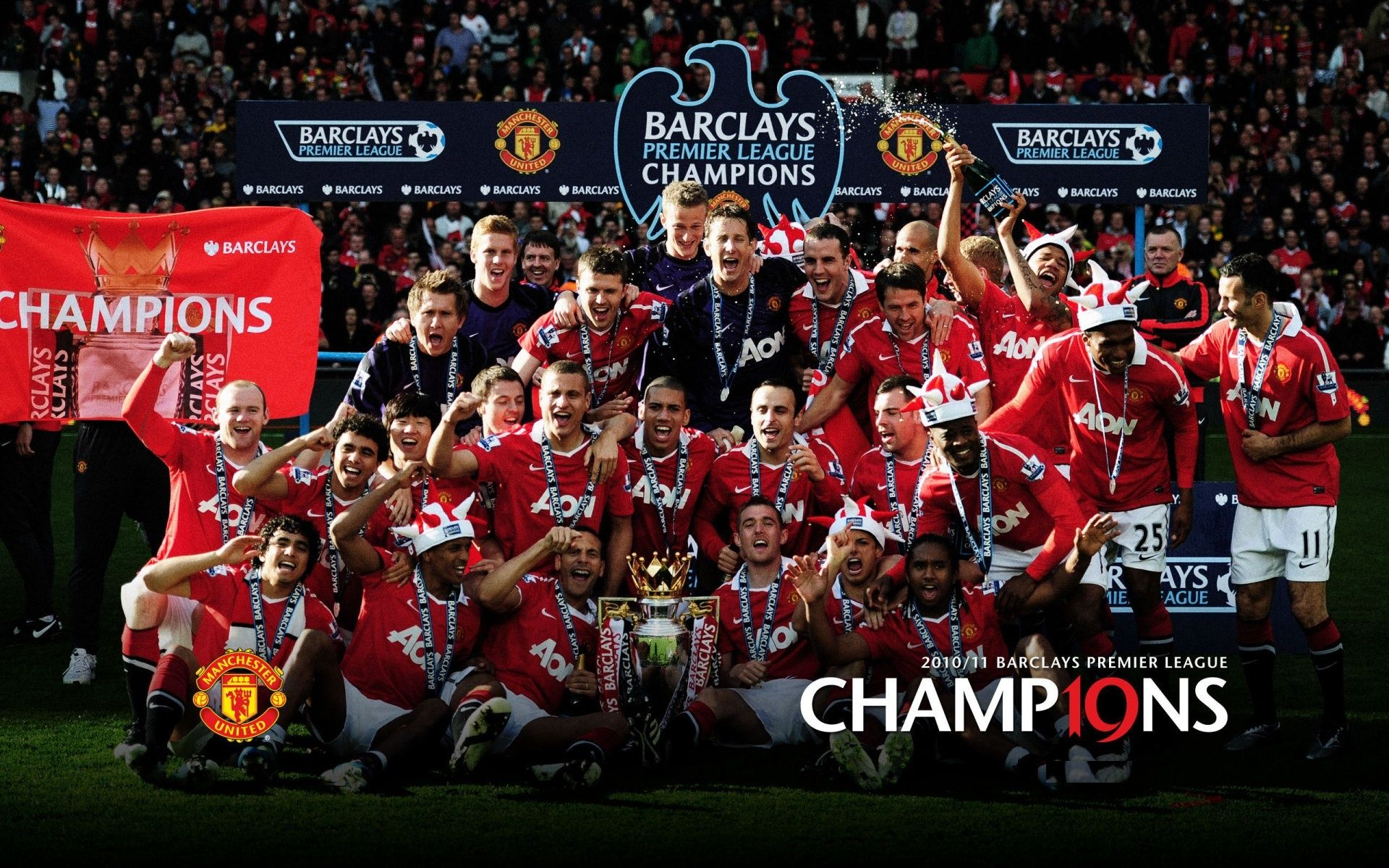 manchester united soccer champions