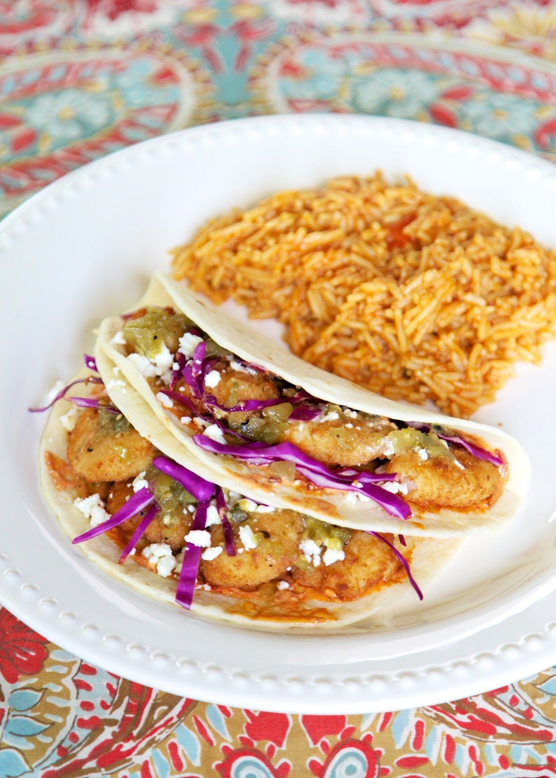 Chipotle Shrimp Tacos - from Disney's Epcot Food and Wine Festival Cookbook