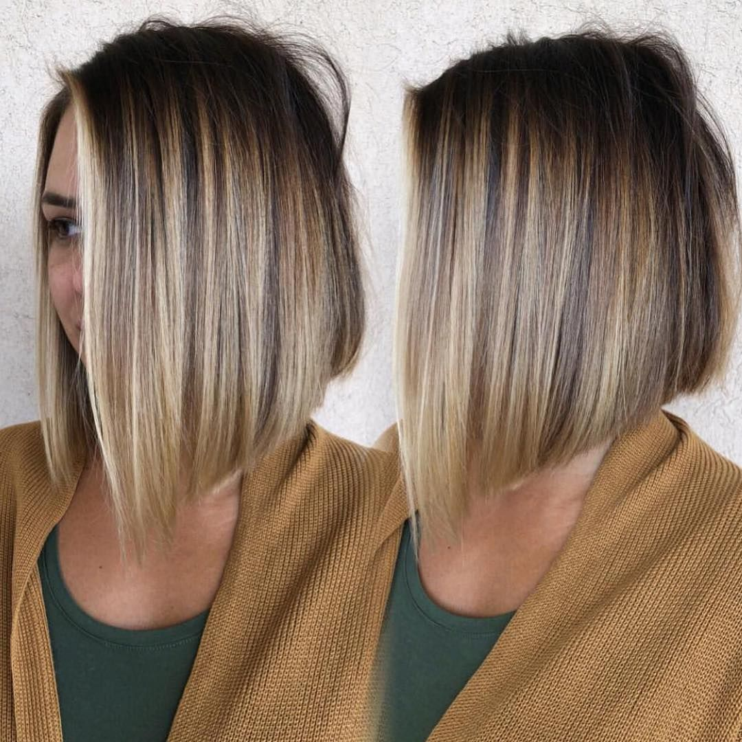 Hairstyles For Women Fall 2020 Blonde Bob Hairstyles Balayage