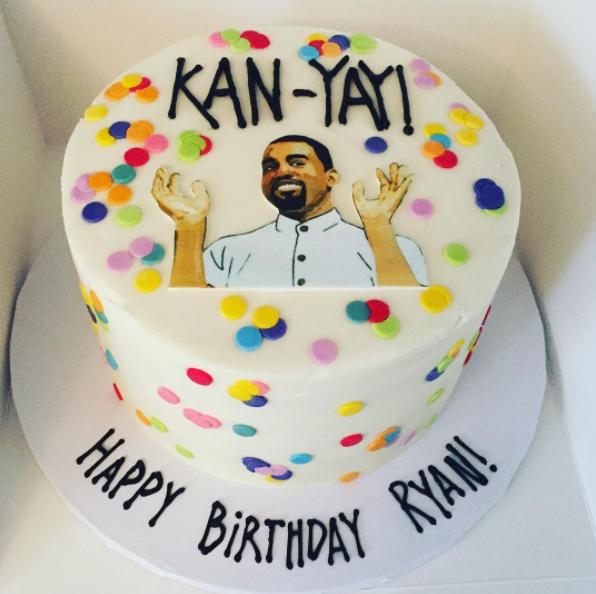 And Ryan Giggles Pinterest 40th Cake Kanye West And Cake