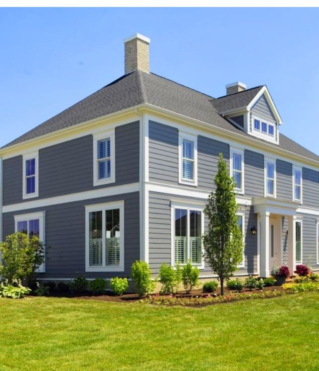 Exterior Color Pittsburgh Paint Dover Grey | Home sweet home ...