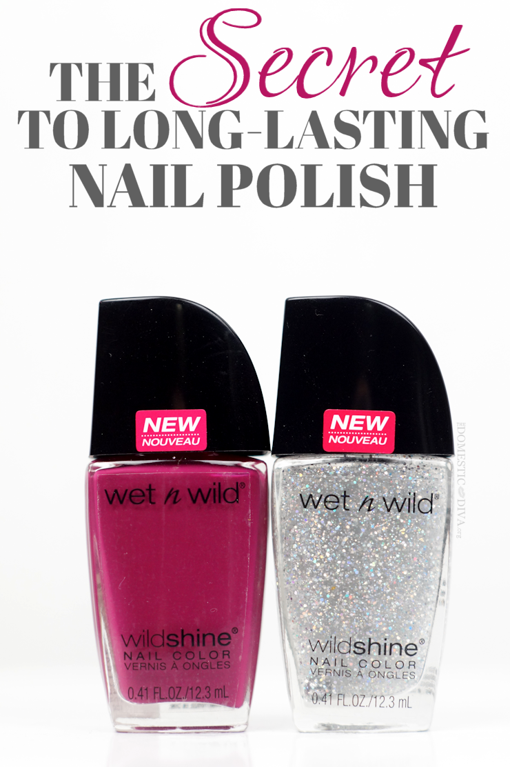 The Secret to Long Lasting Nail Polish no matter what the brand plus ...