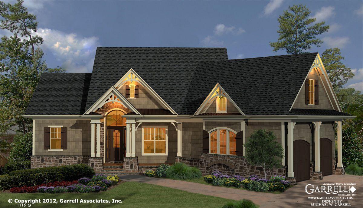Garrell associates inc westbrooks cottage house plan g