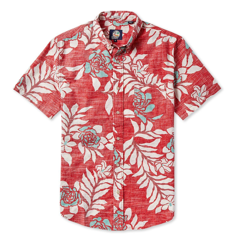 a13a4286a18 GARDENIA   STANDARD FIT Aloha Shirt