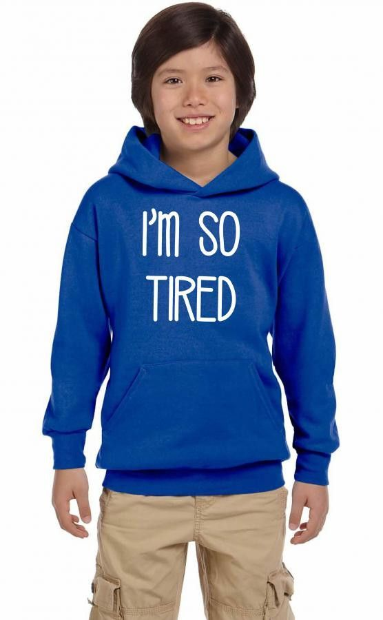 i'm so tired Youth Hoodie