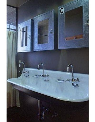 die besten 25 waschtr ge ideen auf pinterest sp le f r waschraum waschk che und kleine. Black Bedroom Furniture Sets. Home Design Ideas