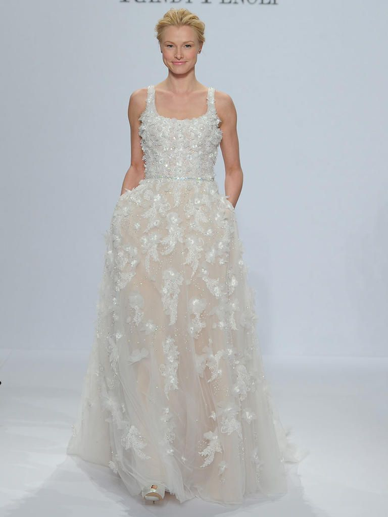 Randy Fenoli Spring 2018: Shimmering Wedding Dresses Make a ...