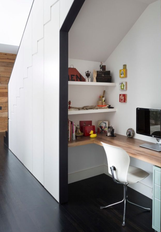 Best Clever Space Under Stair Office Open Plan 400 x 300