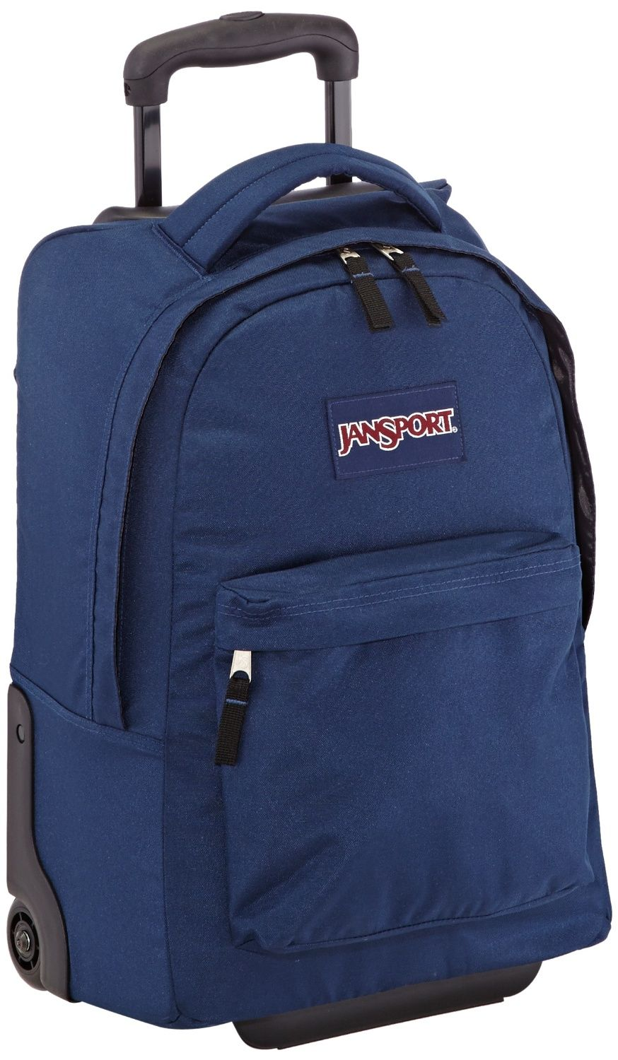 a8bfd0499f51 Rolling backpacks for teenage girls and boys. Jansport Superbreak Wheeled  Backpack - Navy. Perfect for weekend travel.