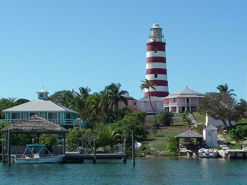 Elbow Cay Lighthouse 1864 Hope Town Abaco Island Bahamas Lighthouse Inspiration Beautiful Lighthouse Lighthouses Photography