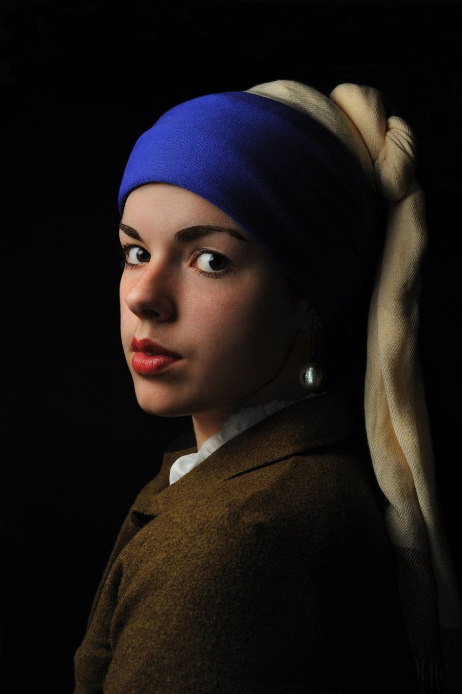 Girl With A Pearl Earring By Theraphotographyd4zum3og