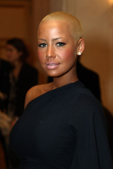 Amber Rose Buzzcut Bald Head Women Bald Women Sassy Hair