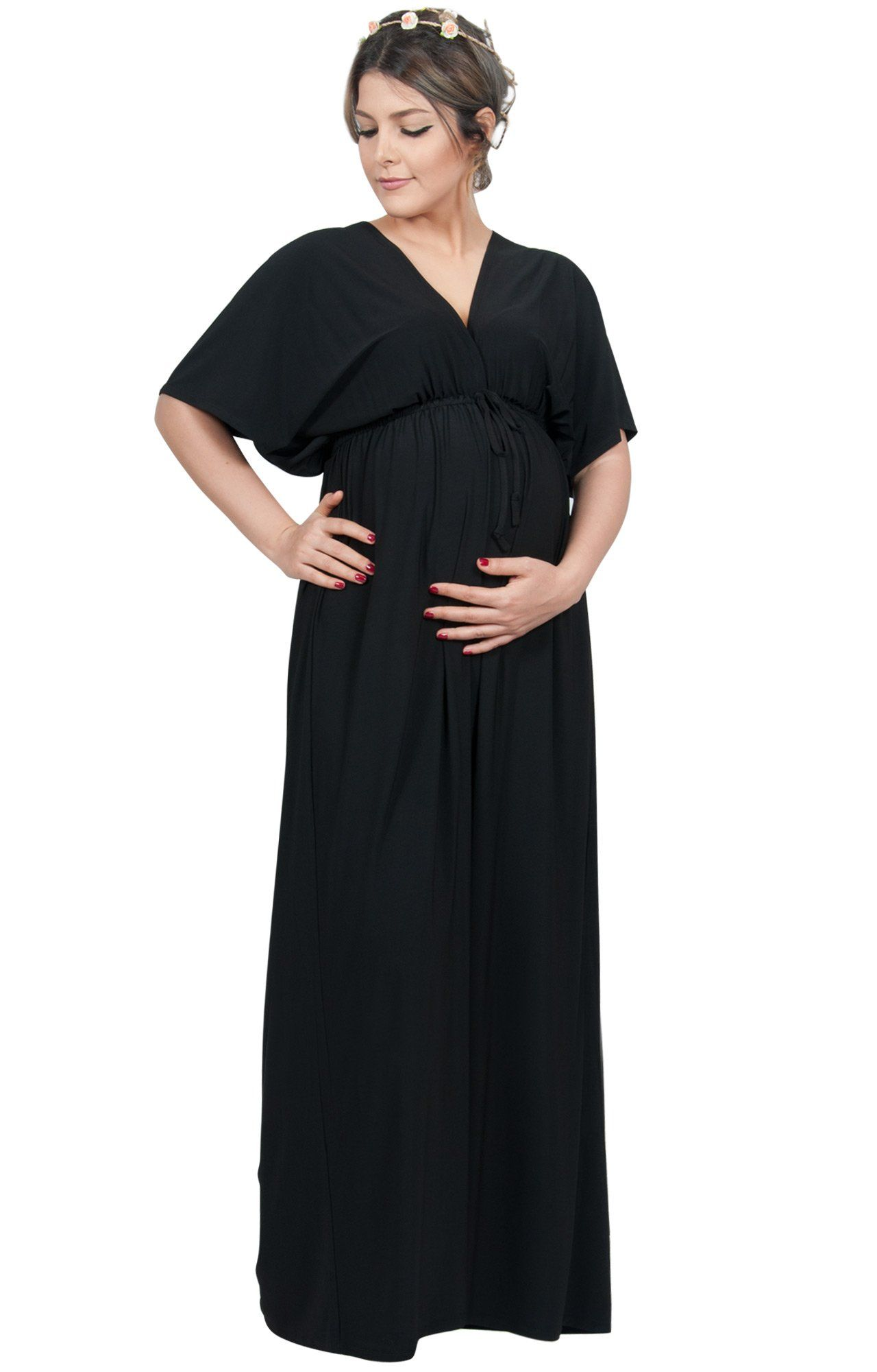 Women maternity clothes koh koh plus size womens long maternity