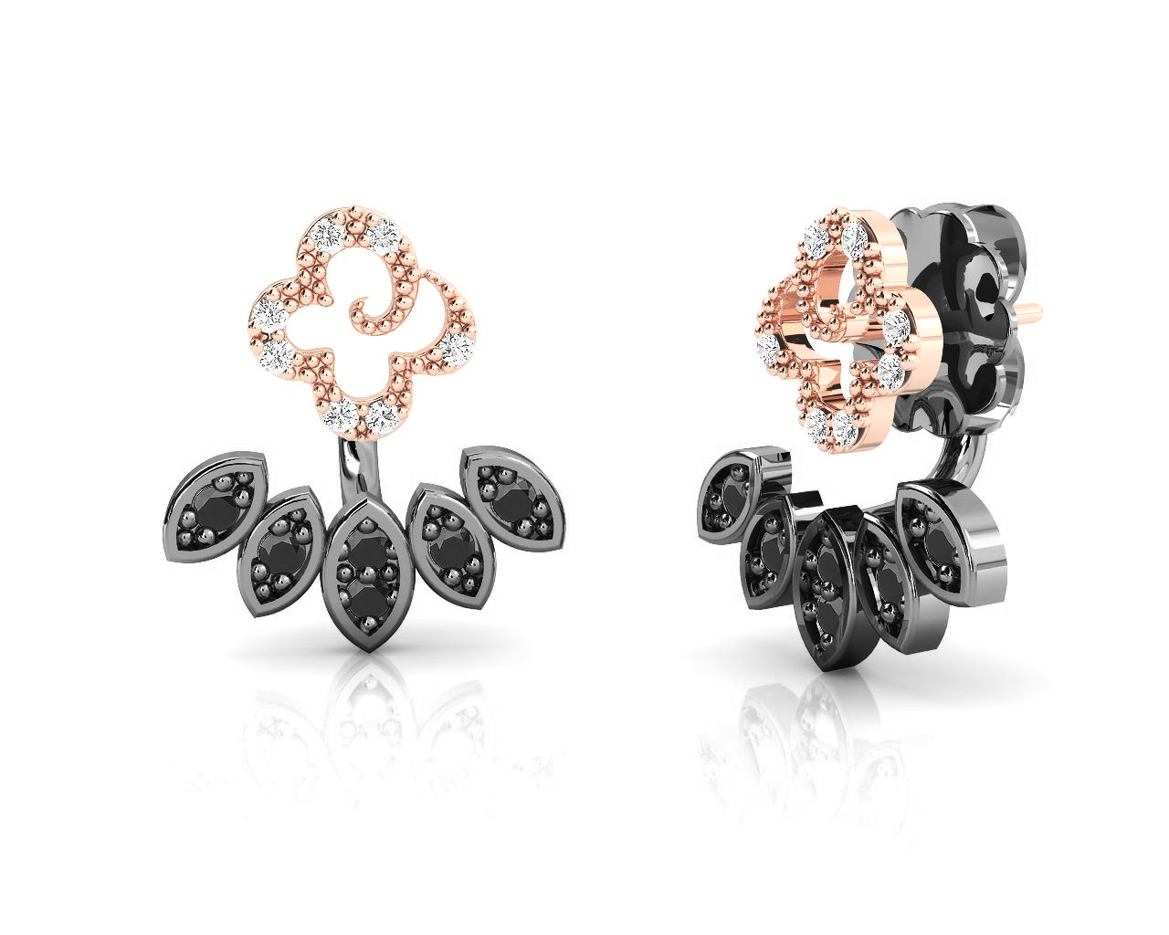 2cb43c01b High Fashion Jewelry | Fashion 2 | Jewelry, Earrings, Rose gold earrings