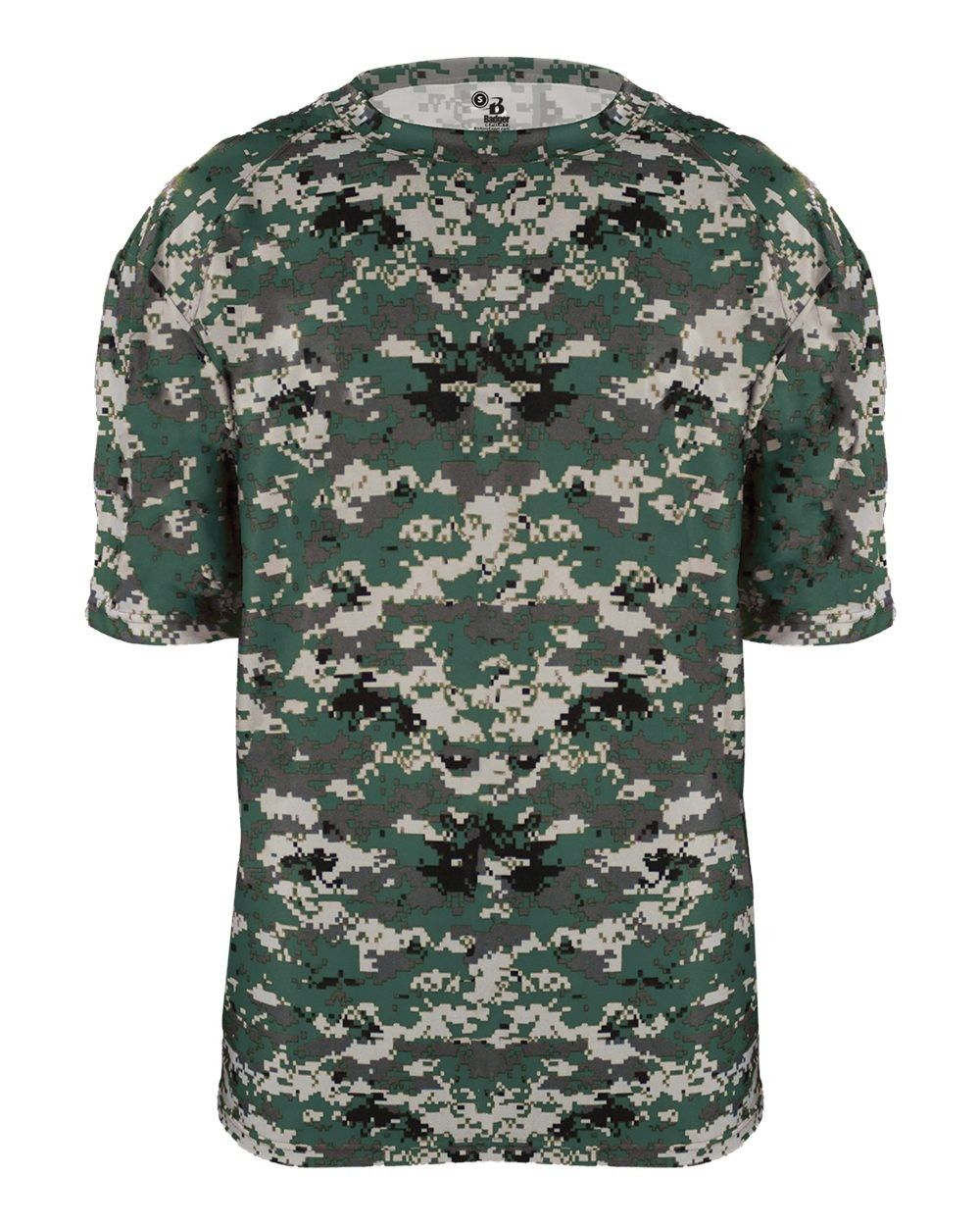 819c382a Digital Camo Performance B-Core Shirt by Badger Sports Style Number ...