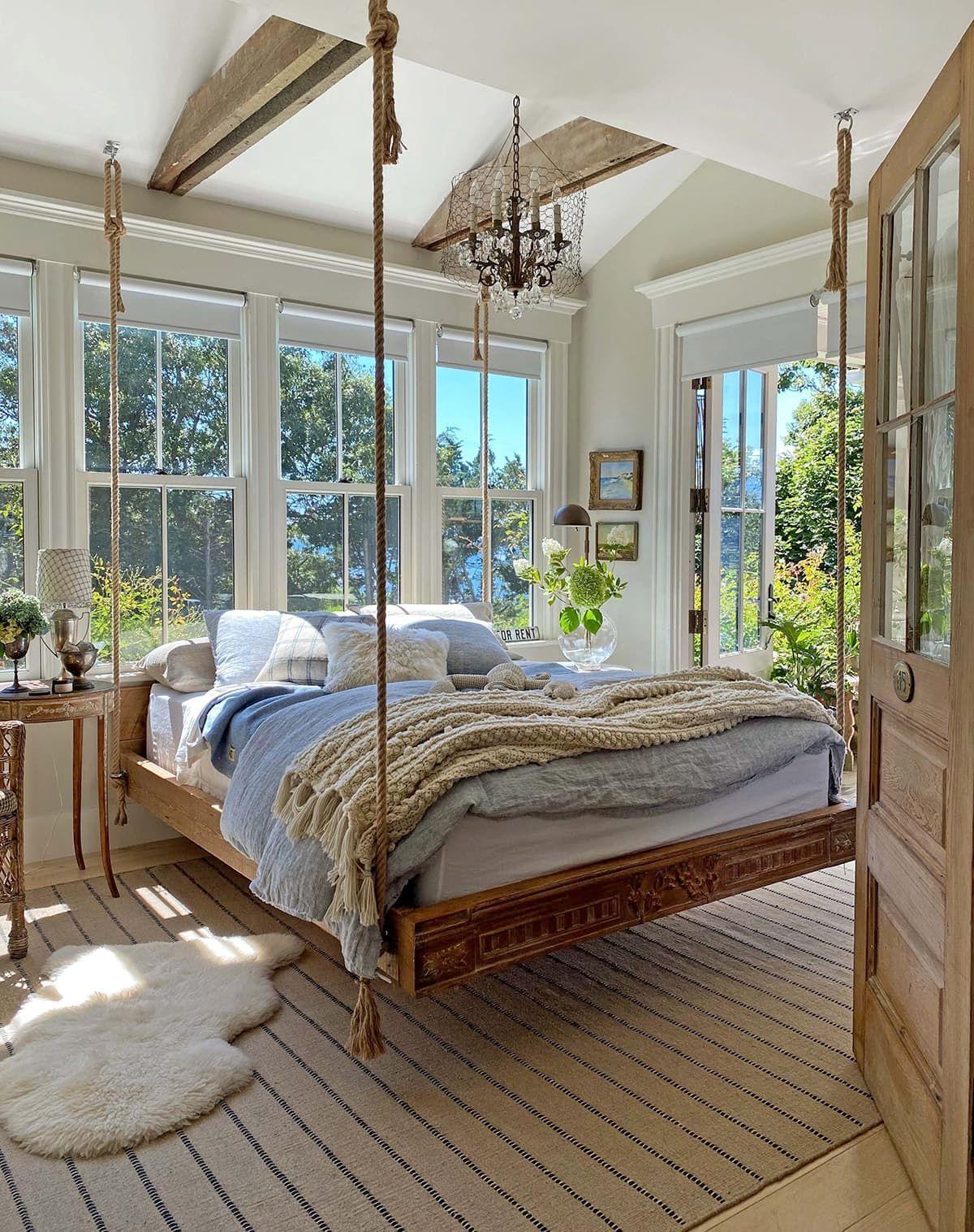 Stunning Classic Cape Cod Home Inspiring Home Tour Cottage House Interior Beach House Interior Design Beach House Bedroom