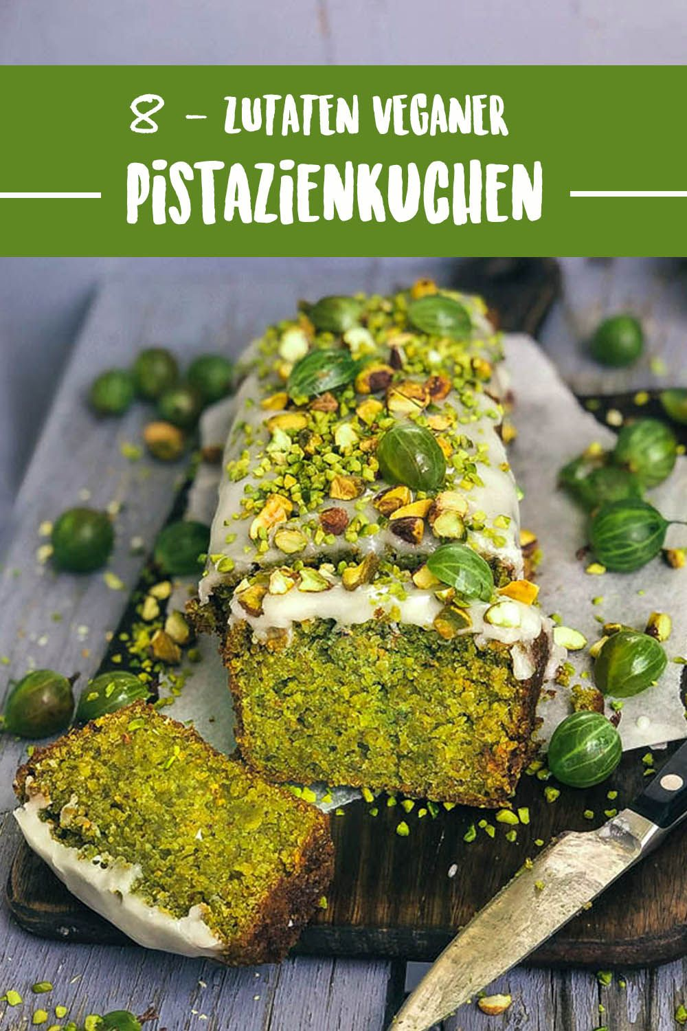 Photo of Juicy vegan pistachio cake with only 8 ingredients Vanillacrunnch | Food & Lifestyle Blogger