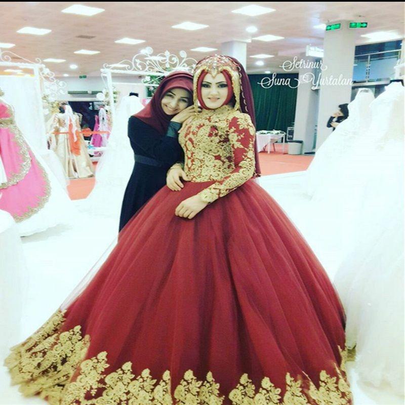 muslim red wedding dresses wwwpixsharkcom images