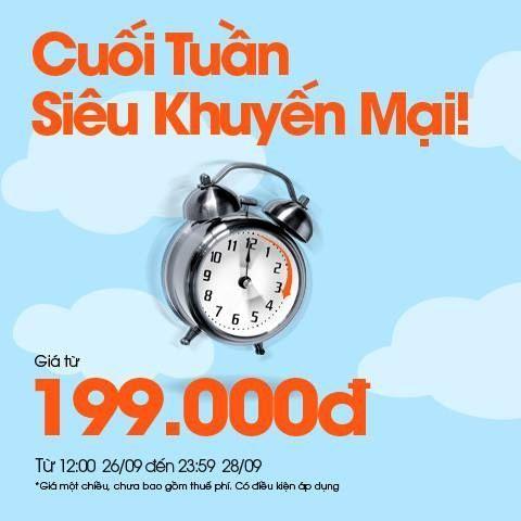 Nhiều hành trình khuyến mãi tháng 9 của Jetstar giá vé siêu tiết kiệm.Hotline:0982 368 188(Ms Hương) Email:xuanhuong@fiditour.com