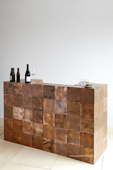 Copper bar. Re-configure your own space and you can design and build your very own bar and then make something else when you've finished with it.