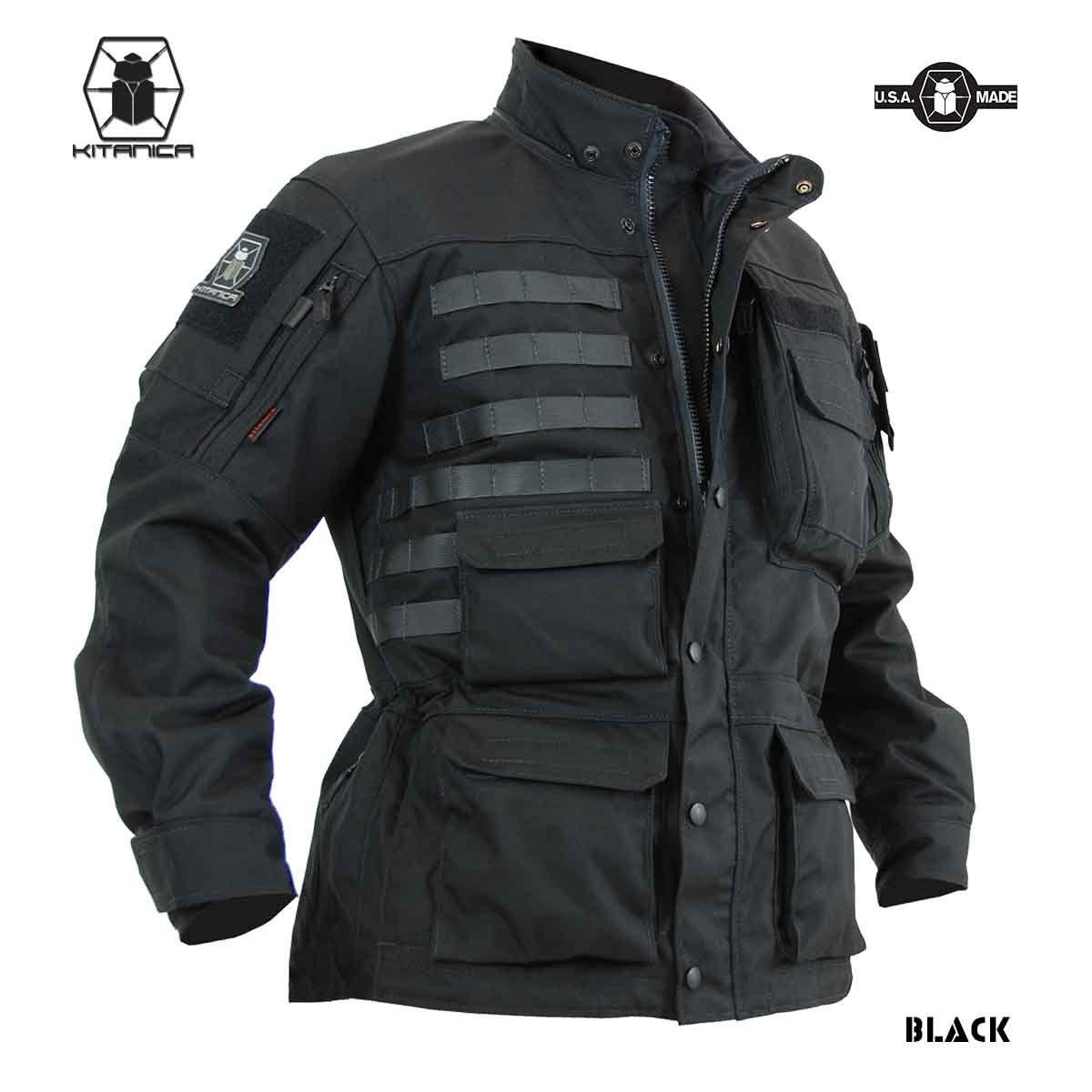 Kitanica Mark V Jacket Jackets Kitanica V Black