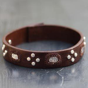 Creation bracelet cuir homme