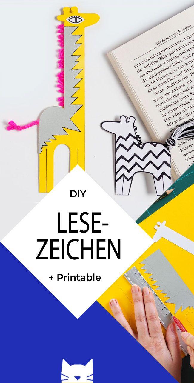 DIY: Lesezeichen mit Puschelschwanz basteln
