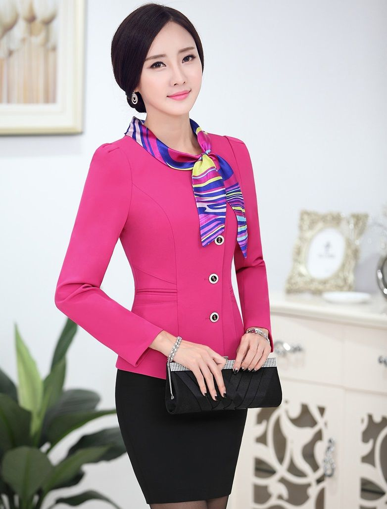 New 2015 Autumn Winter Uniform Design Professional Business Work ...