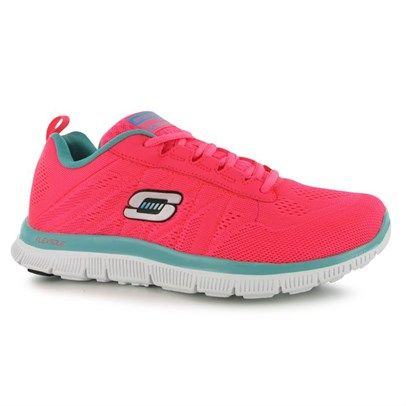 6706976772e75f h2Skechers Flex Appeal Sweet Spots Ladies Trainers/h2br /Its a hot trend  right now