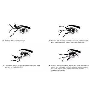 MaLashes™ Magnetic False Eyelashes - Reusable Magnetic Lashes