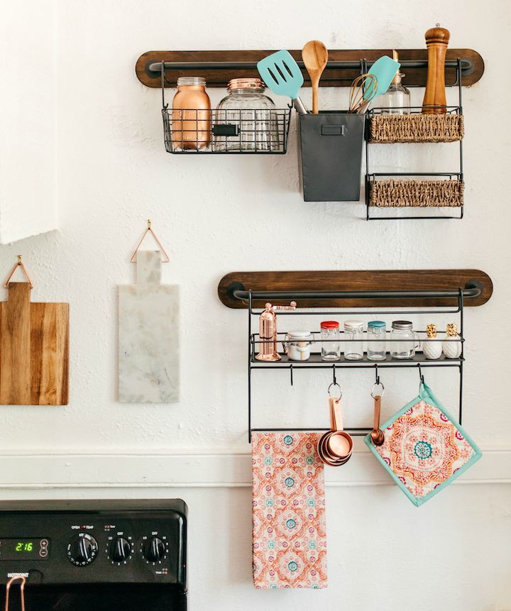 Kitchen Storage Ideas For Apartments Part - 39: 59 Extremely Effective Small Kitchen Storage Space Management Ideas To Make  Your Life Easier