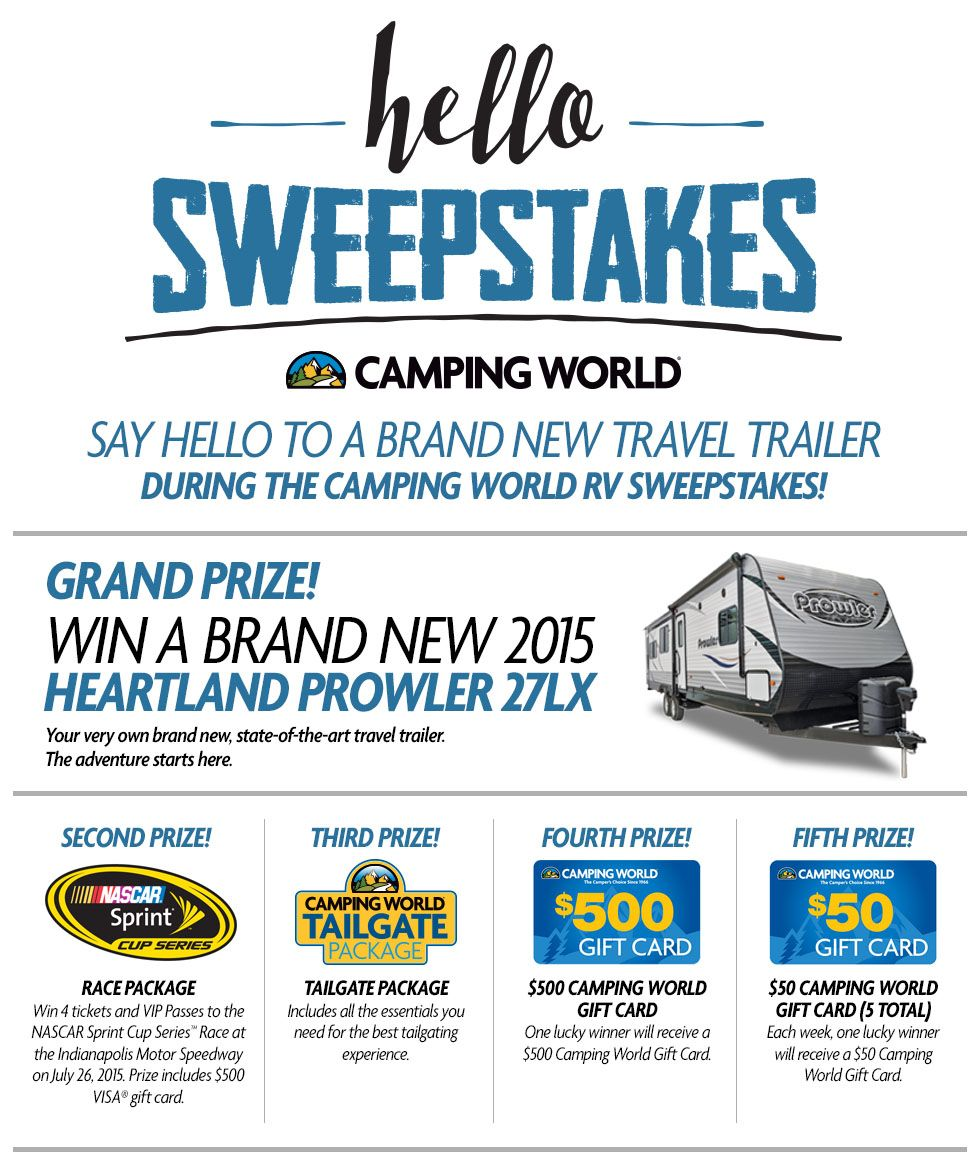 camping world sweepstakes