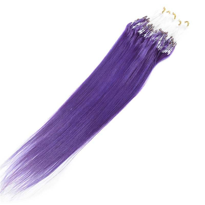Very Best 18inch Brazilian Hair Extension Cheap Colored Micro Loop