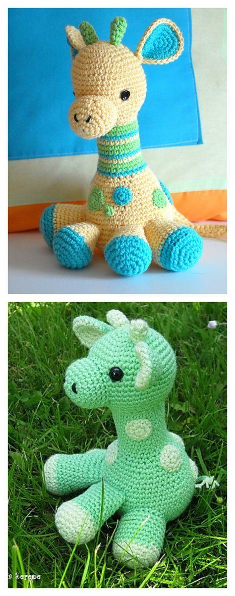 Adorable Crochet Hearty Giraffe Amigurumi Free Pattern | Pinterest ...