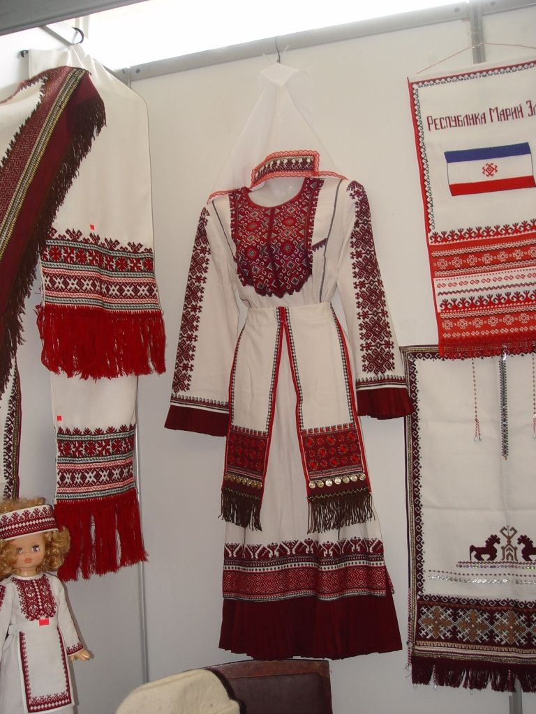 Марийский народный костюм картинки