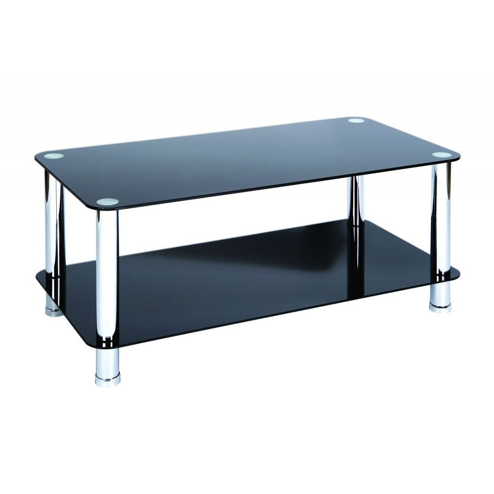 50 Black Gl And Chrome Coffee Table Best Spray Paint For Wood
