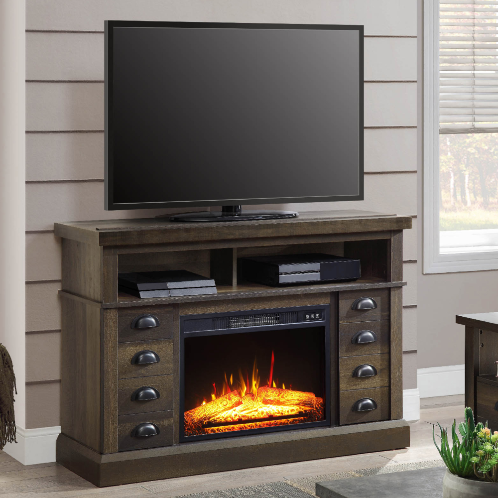Home Tv Console With Fireplace Fireplace Console Fireplace Tv
