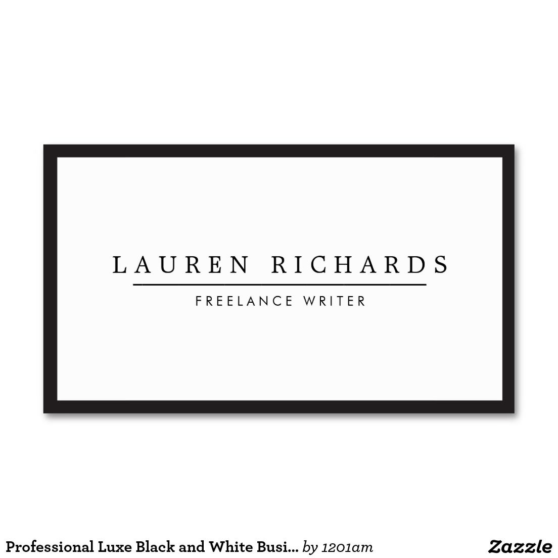 Sometimes simple is best this classic business card template with this classic business card template with black border gives a professional cheaphphosting Image collections