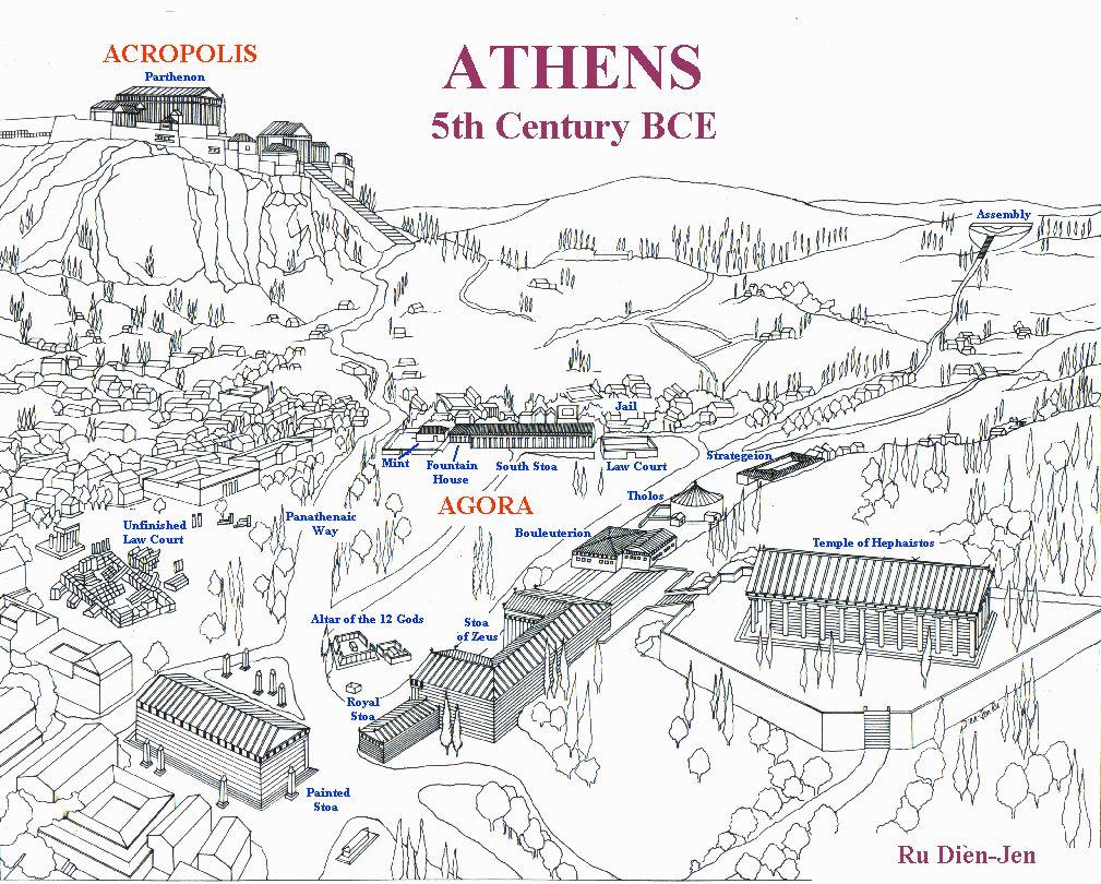 Athenes Agora