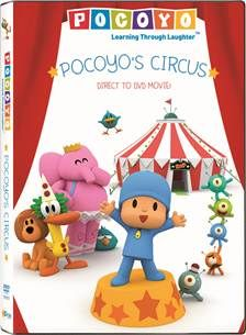 """We recently went to the circus so as soon as the Pocoyo's Circus DVD arrived in the mail Paige was jumping up and down with excitement. """"Pocoyo went to the circus just like ME!"""""""