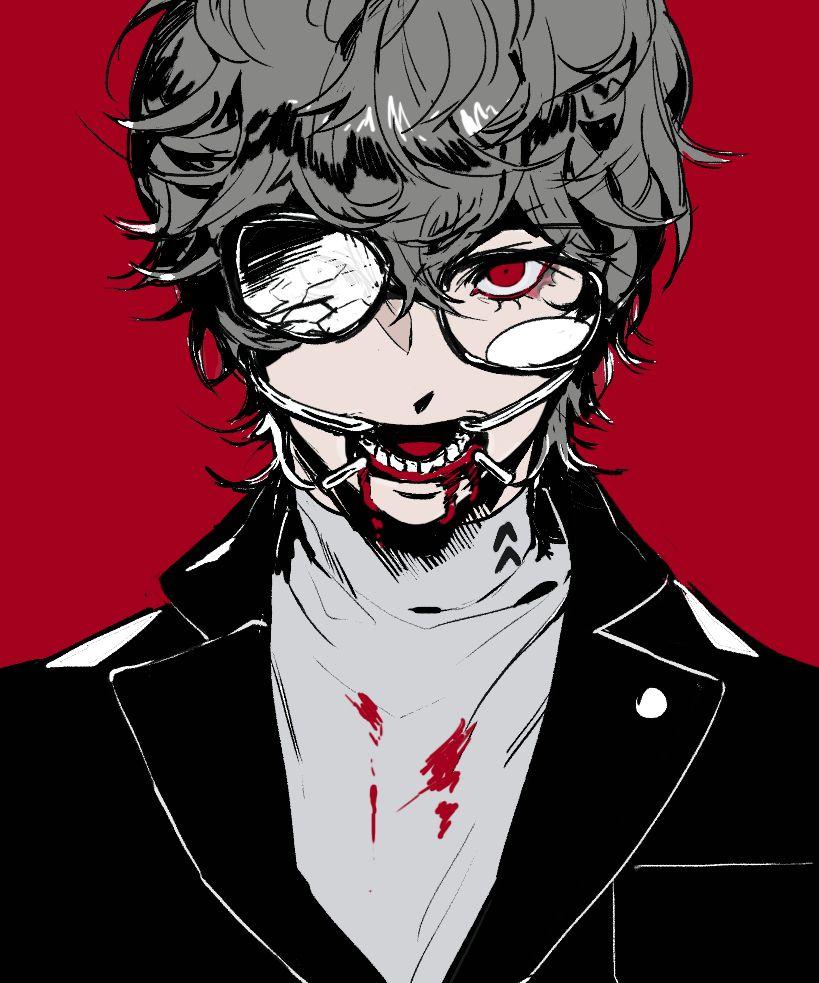 Akira Kurusu Persona 5 anime, Persona 5 joker, Persona 5