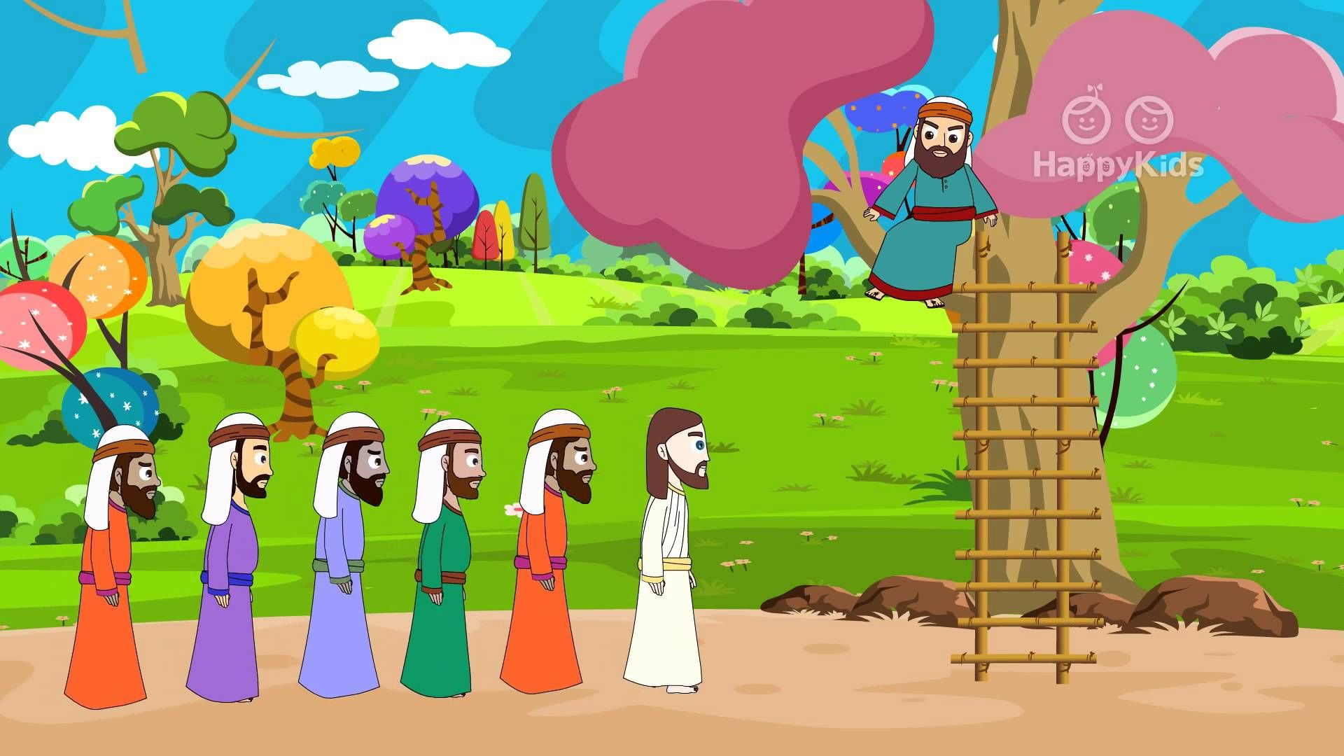 Zacchaeus and Jesus I Stories of Jesus I Animated Children\'s Bible ...