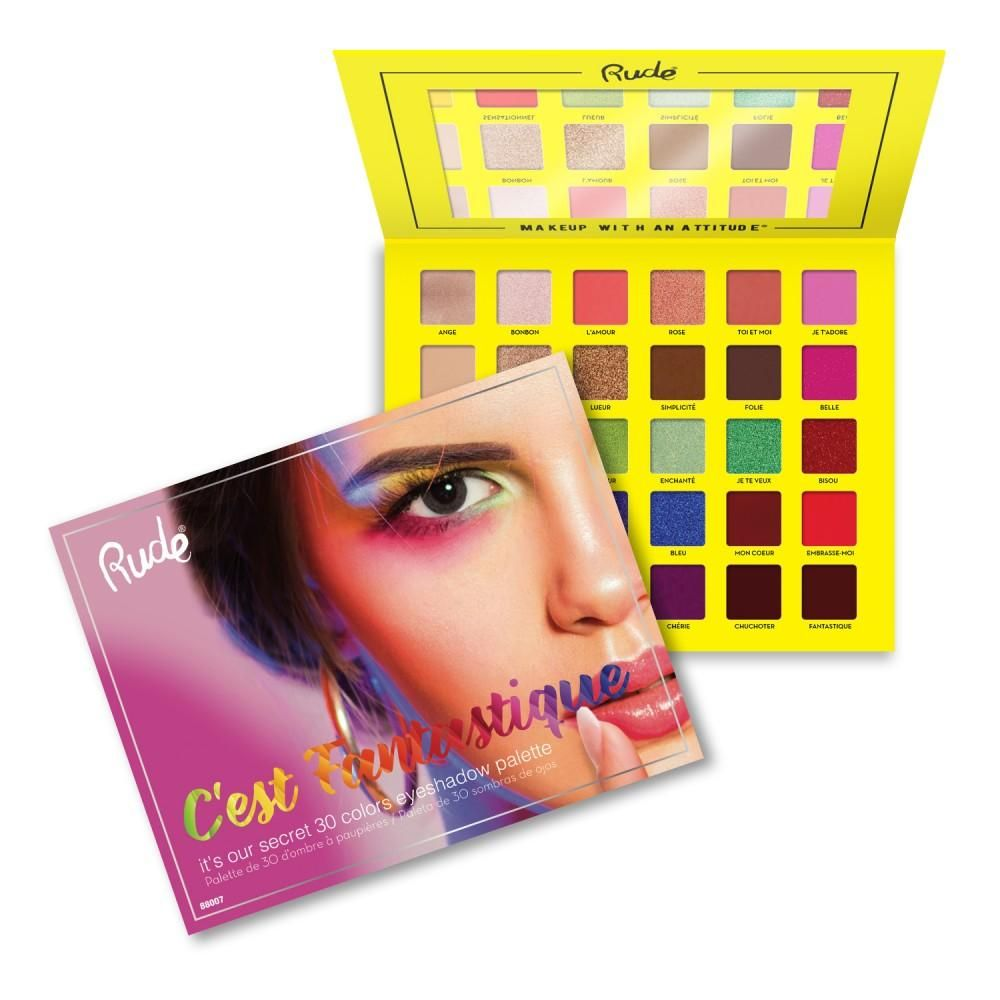 Rude Cosmetics C'est Fantastique 30 Eyeshadow Palette