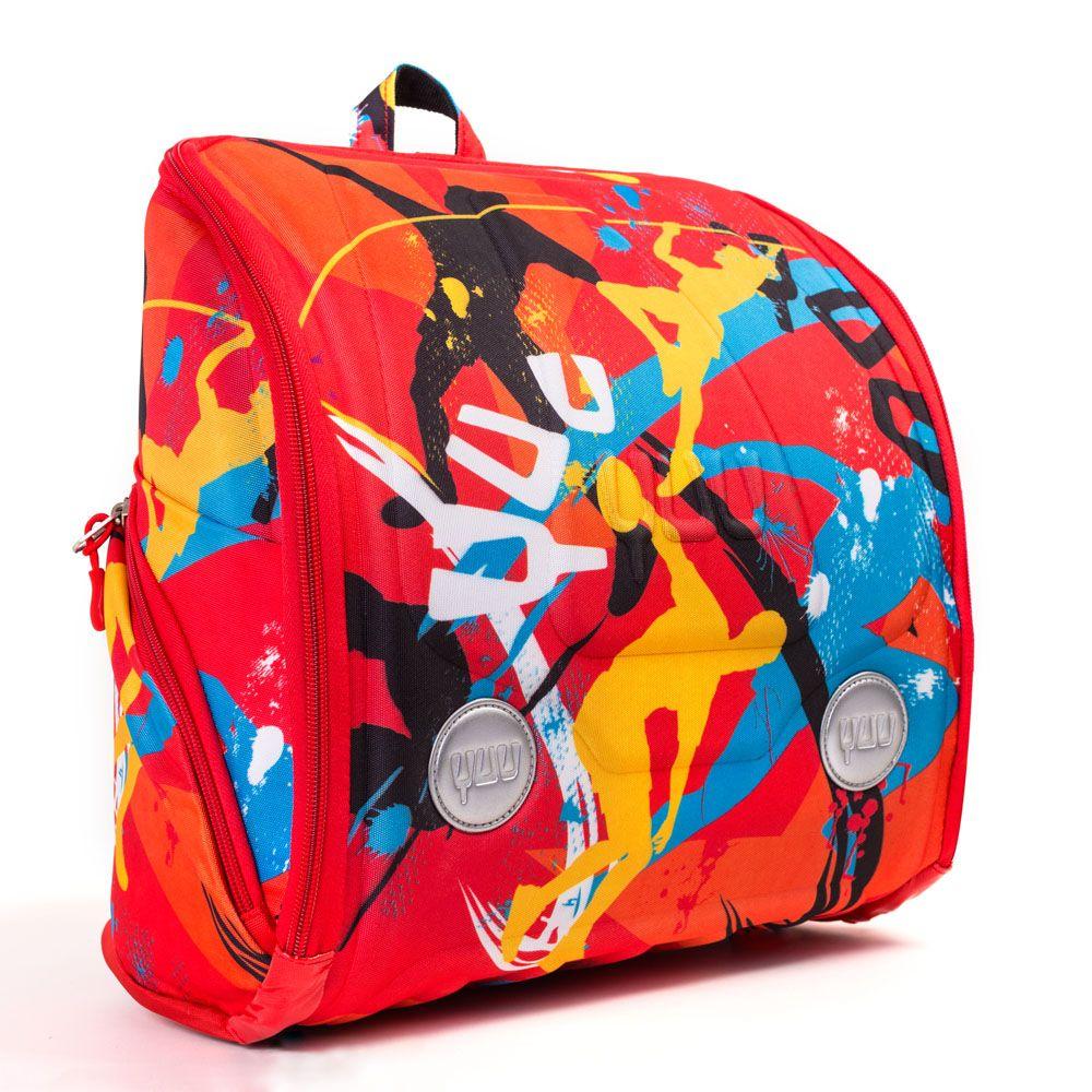 Mega lækre YUUworld skoletaske, YUU11J1FP, JUUMP YUUworld  til Skoletasker til børn i behageligt materiale