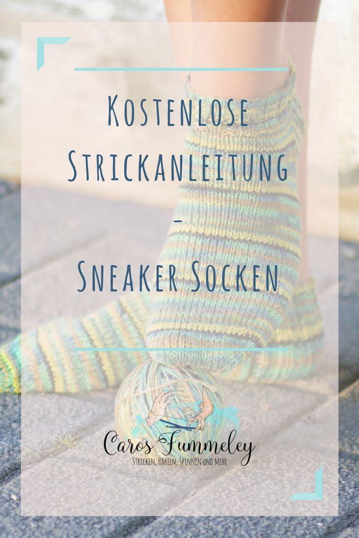 Photo of Kostenlose Anleitung: Strick-Sneakersocken für Veganer und Allergiker