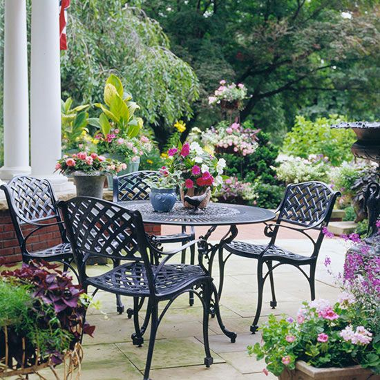 Patio Furniture Ideas Wrought Iron Outdoor Furniture Iron Patio