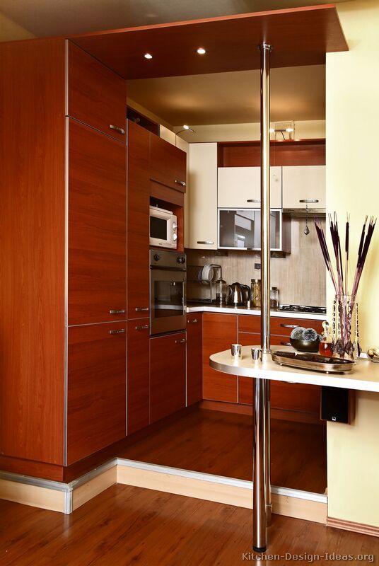 Kitchen Idea Of The Day Modern Twotone Small Kitchen Small Enchanting Small Kitchen Interior Design Inspiration Design